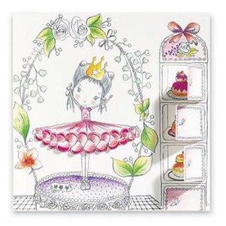 Djeco Verrassende kleurplaten Colour and Peek - Pupi's little doors