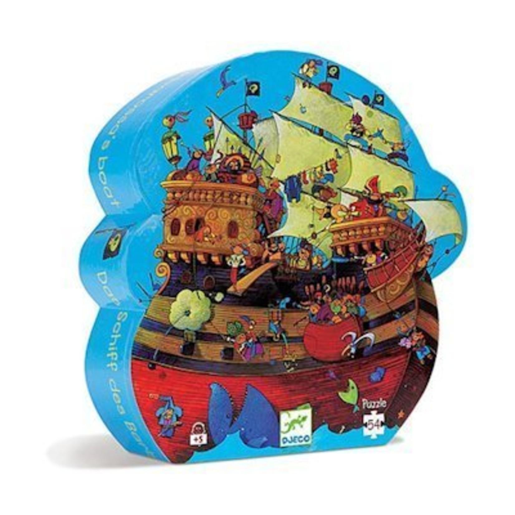 Djeco Puzzel Barbarossa's Boot