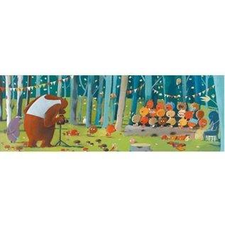 Djeco Puzzel Gallery - Bosvriendjes 100 stukjes