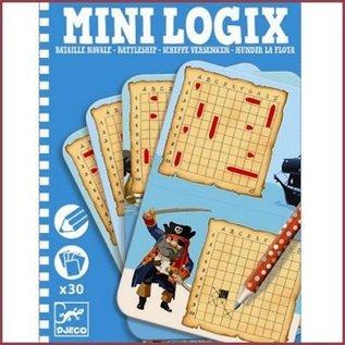 Djeco Mini Logix - Zeeslag