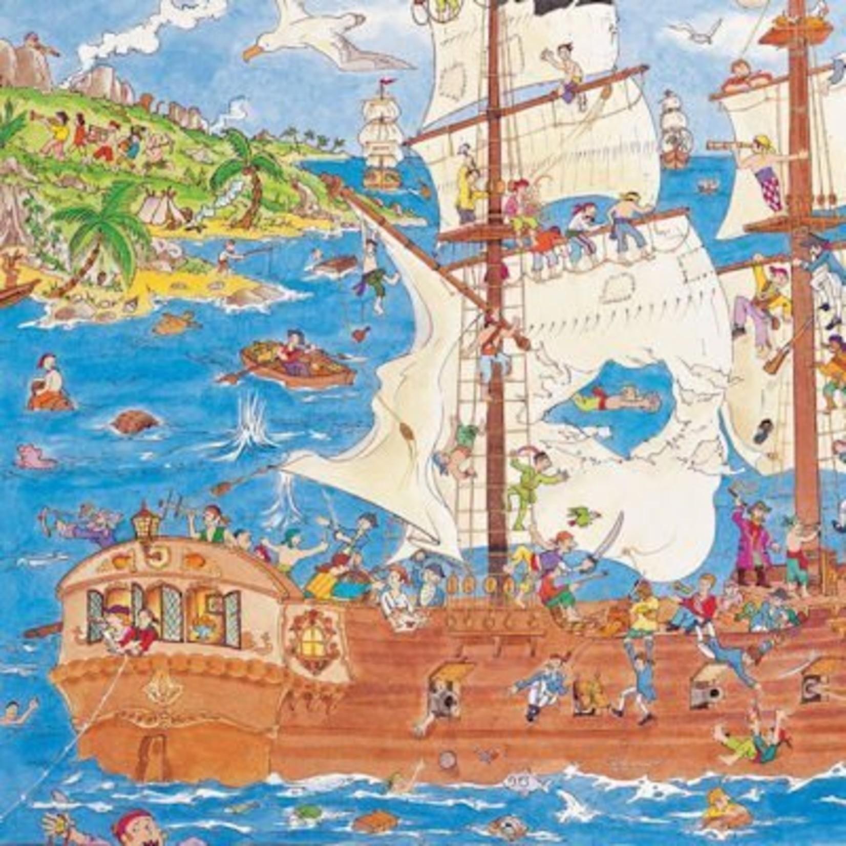Djeco Observatiepuzeel Piraten