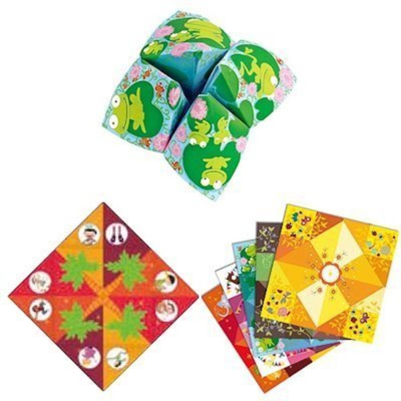 Djeco Origami vouwspel Zoutvaatjes