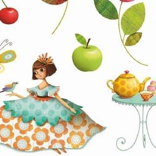Djeco Stickers Prinsessen theekransje