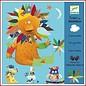 Djeco Creeer met stickers: dieren