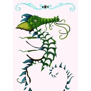 Djeco Knutselset folie plaatjes Draken