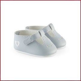 Corolle Grijze schoentjes voor babypop (36 cm)