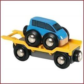 Brio Autotransporter met oprijplaat