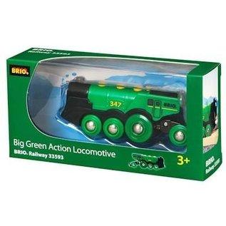Brio Grote groene Batterij locomotief