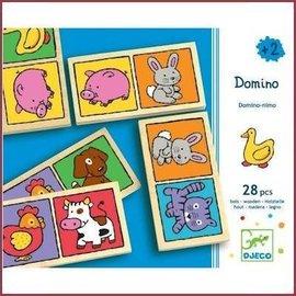 Djeco Houten Dominospel Domino-nimo