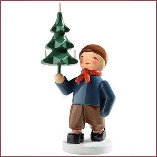 Wendt & Kühn Jongen met kerstboom