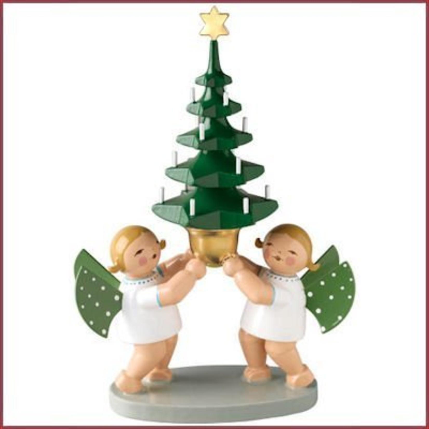 Wendt & Kühn Grunhainichense Engeltjes met kerstboom