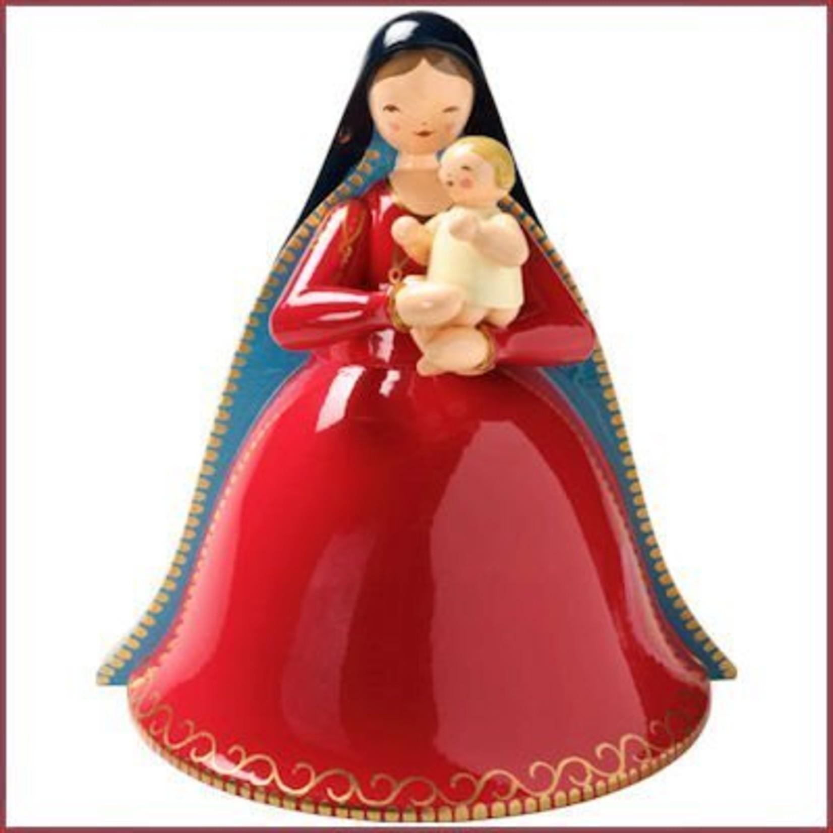 Wendt & Kühn Maria met Kerstkind, subtiel beschilderd
