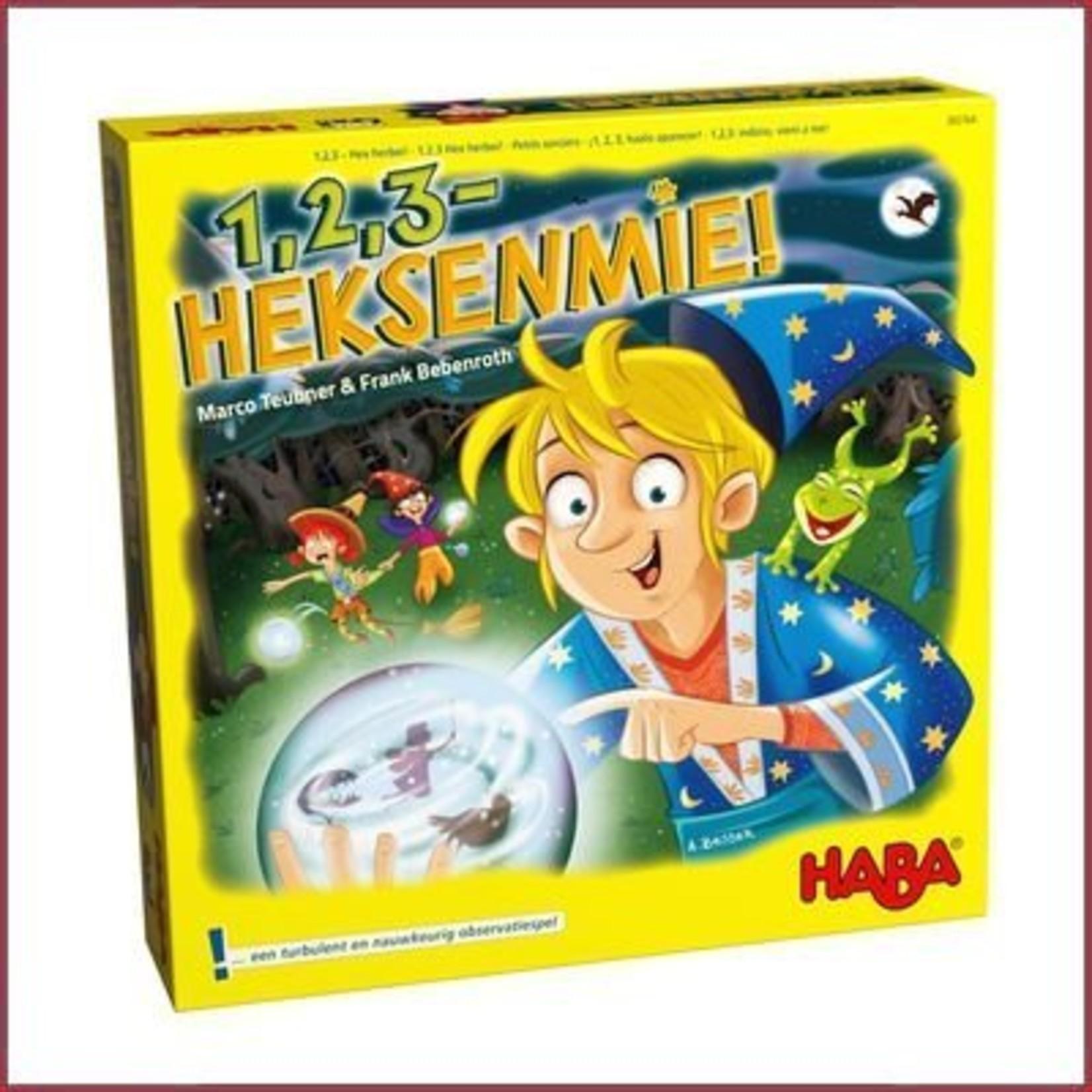 Haba Spel - 1, 2, 3 - heksenmie!