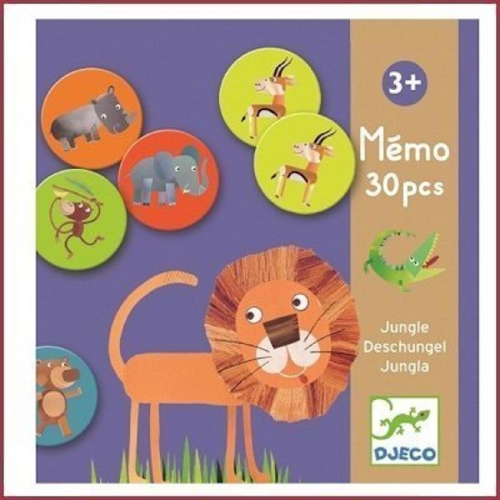 Djeco Memospel Jungle