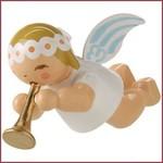 Wendt & Kühn Kleine, zwevende Engel met trompet