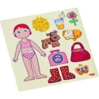 Haba Magneetbox aankleedpop Lilli