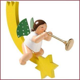 Wendt & Kühn Grunhainichense Engel op staartkomeet met trompet