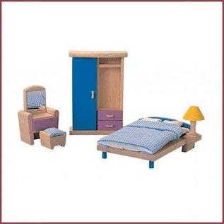 Plantoys Slaapkamer voor poppenhuis