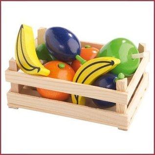 Haba Kratje met houten fruit