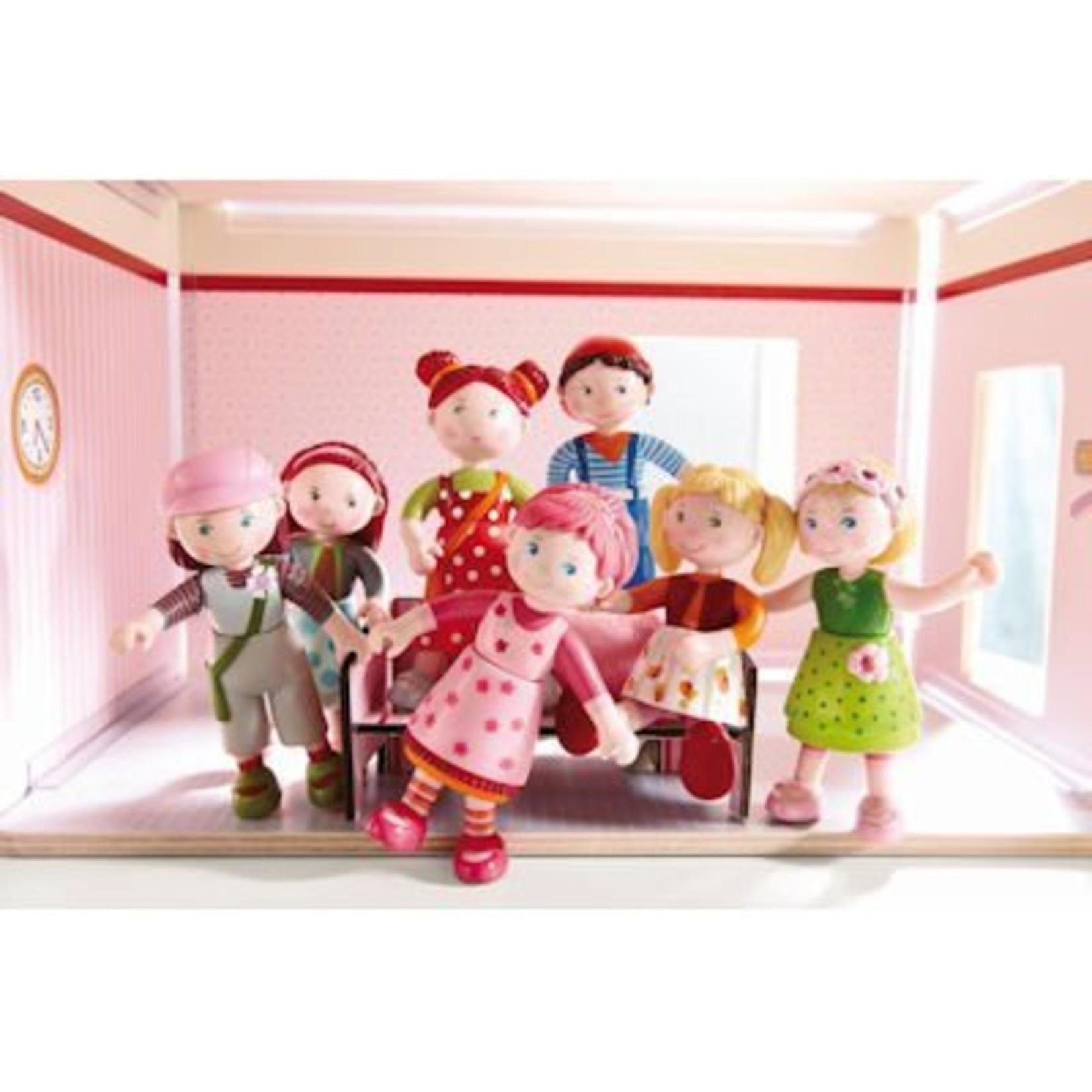 Haba Little Friends buigbaar poppenhuispopje Boer Frans