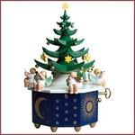 Wendt & Kühn Muziekdoos Kerstboom