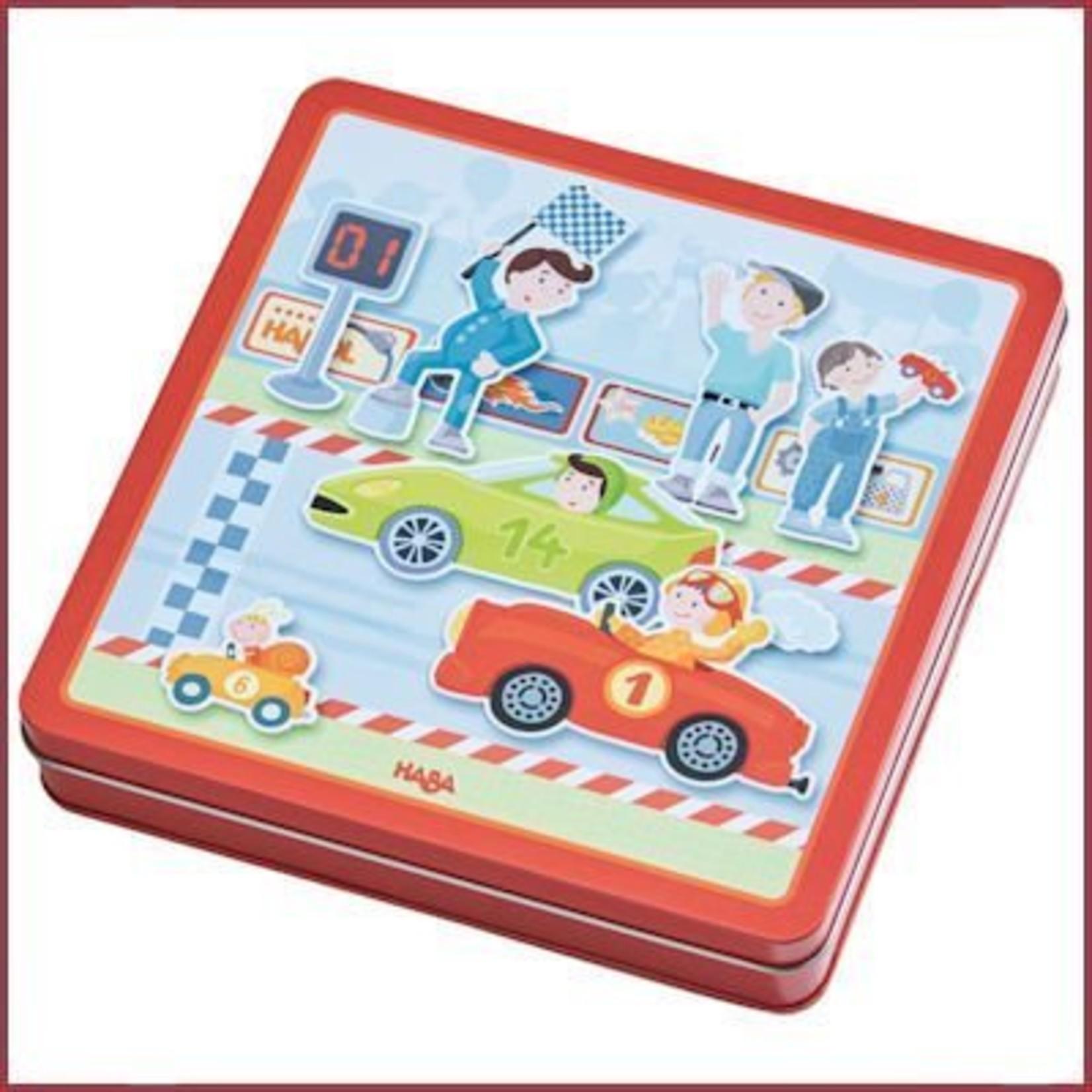 Haba Magneetspeldoos Snelle Sportwagens