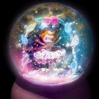 Djeco Magisch nachtlampje Ballerina