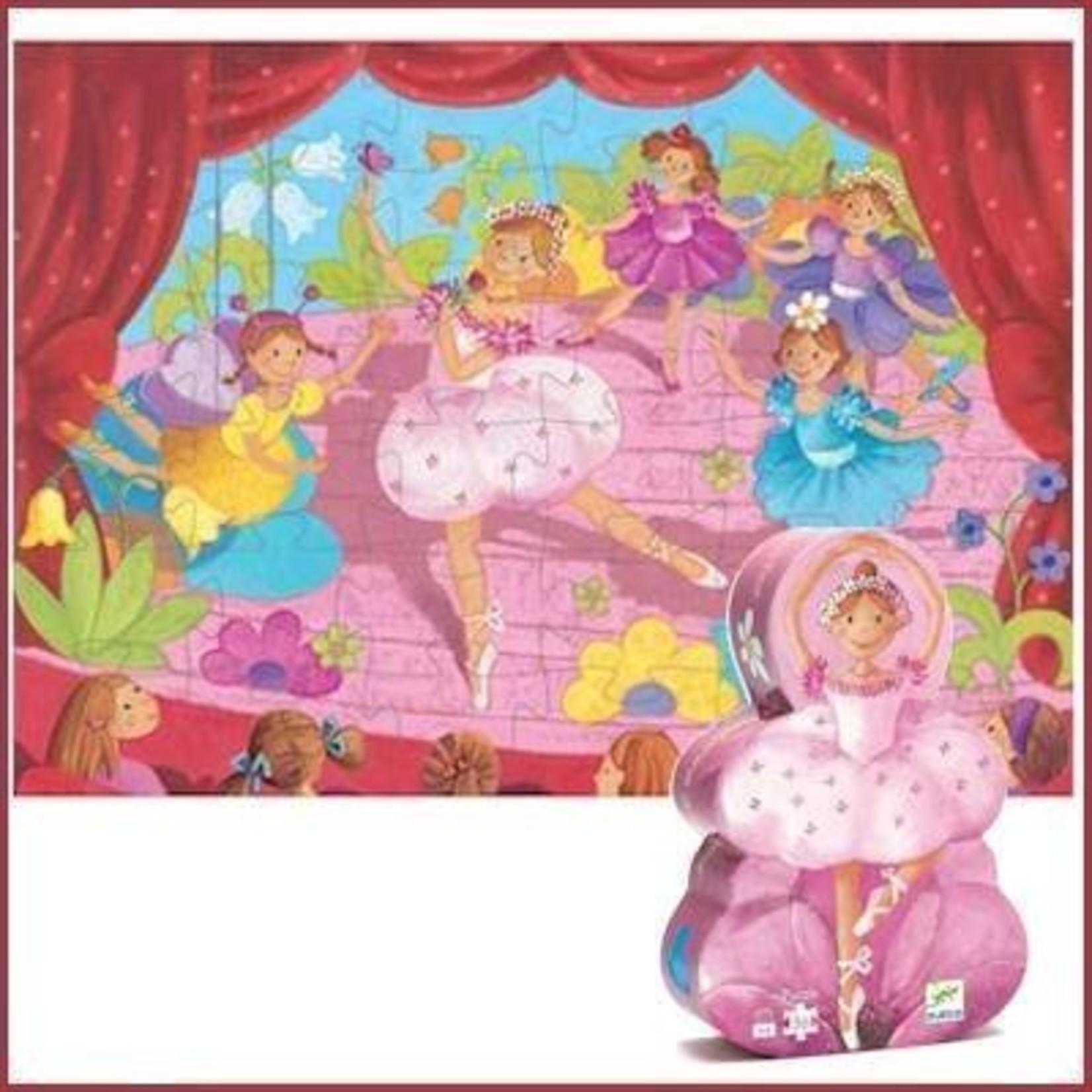 Djeco Puzzel De Ballerina met de Bloem