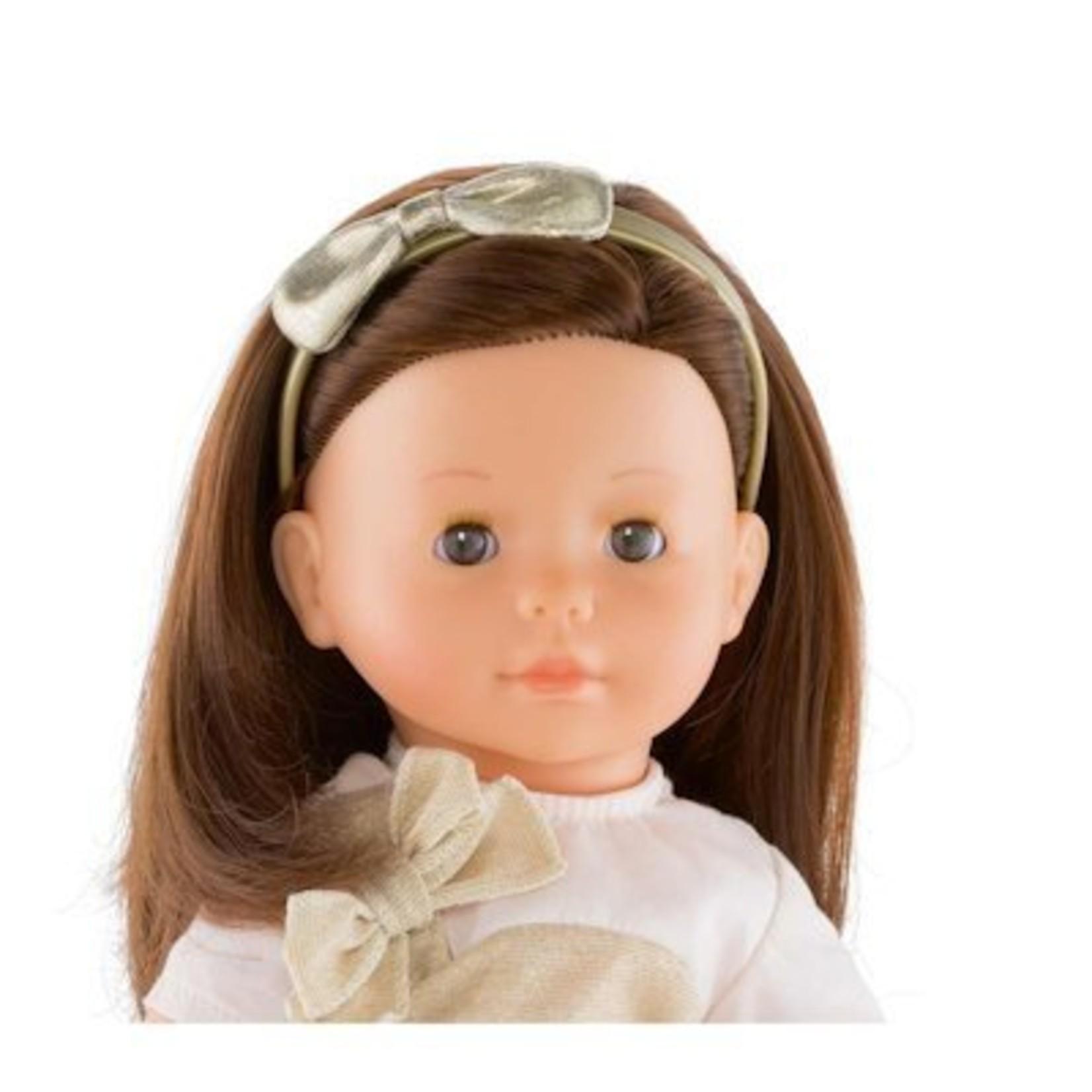 Corolle Goudkleurige haarband voor Ma Corolle poppen (36 cm)