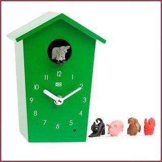 KooKoo Klok AnimalHouse -  Groen
