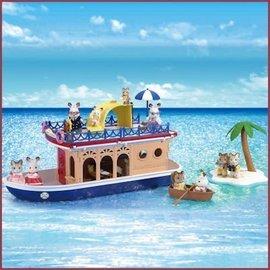 Sylvanian Families Seaside Cruiseschip woonboot NU