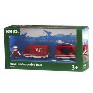 Brio Oplaadbare travel trein met USB-kabel