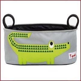 3 Sprouts Kinderwagen organizer Krokodil
