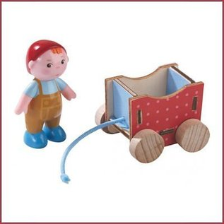 Haba Little Friends poppenhuispopje Baby Casimir