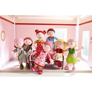 Haba Little Friends poppenhuisfiguurtje Tractor