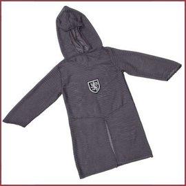 Trullala Lang grijs ridderhemd (M/L)