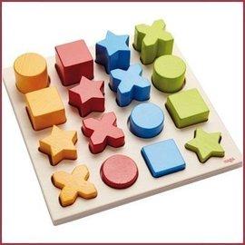 Haba Houten sorteerbord vormenmix