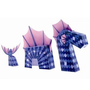 Djeco Knutselset papieren speelgoed: Draken