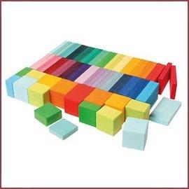 Grimm's Houten blokkenset Kleurenkaart