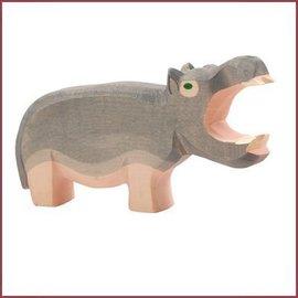Ostheimer Nijlpaard met open bek