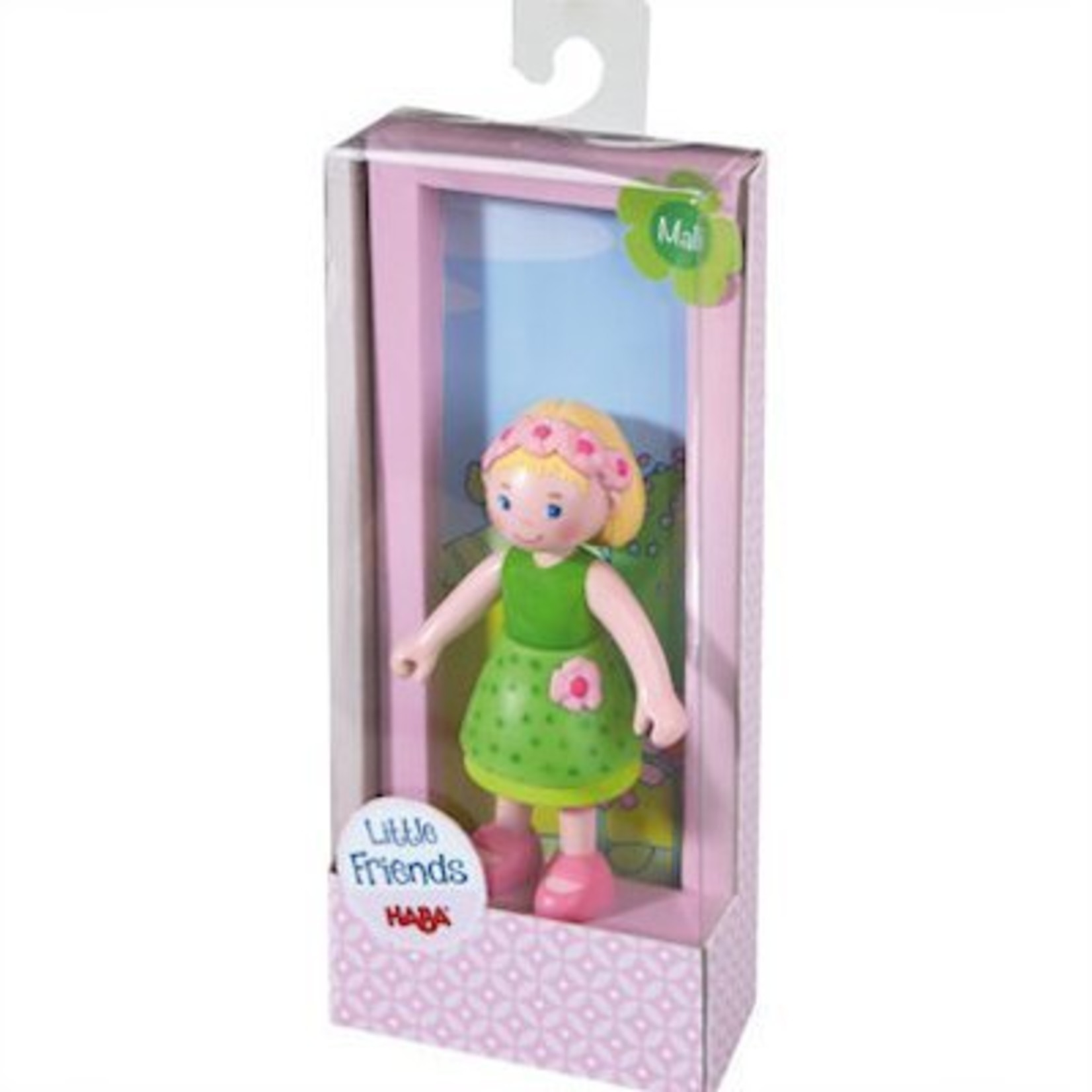 Haba Little Friends buigbaar poppenhuispopje Emma