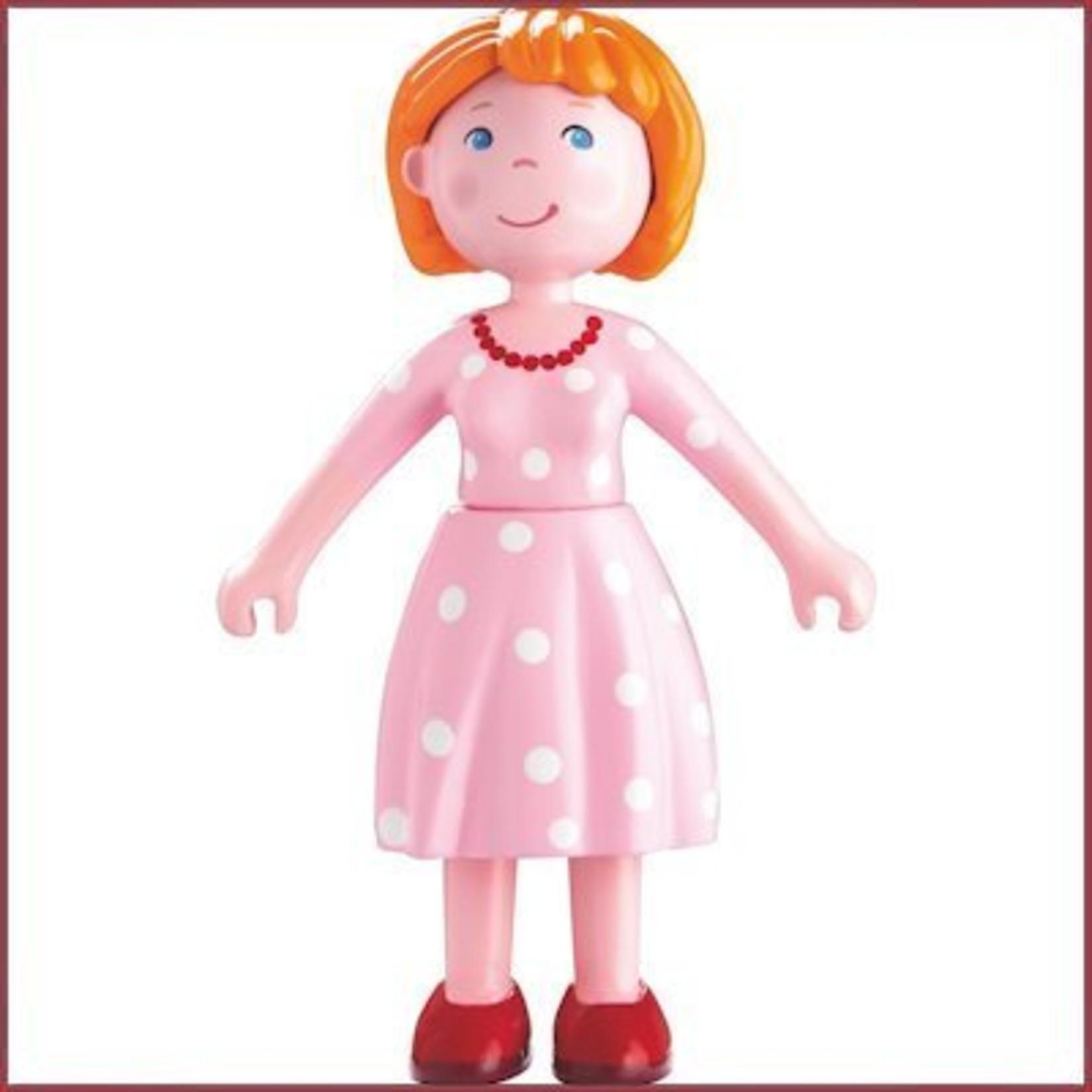 Haba Little Friends buigbaar poppenhuispopje moeder Katrin
