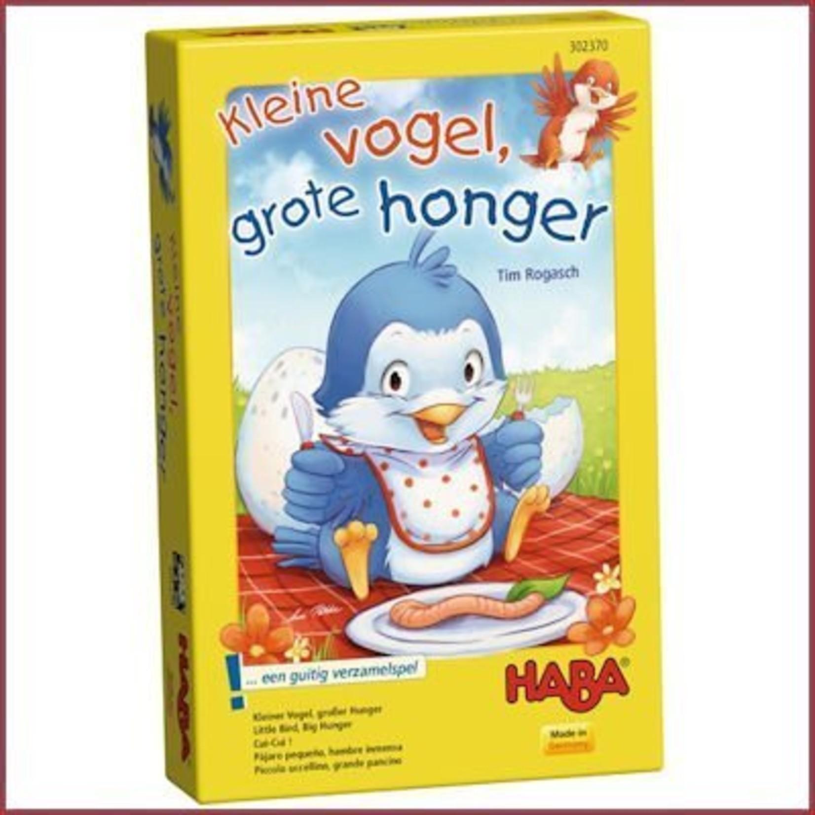 Haba Spel - Kleine vogel, grote honger