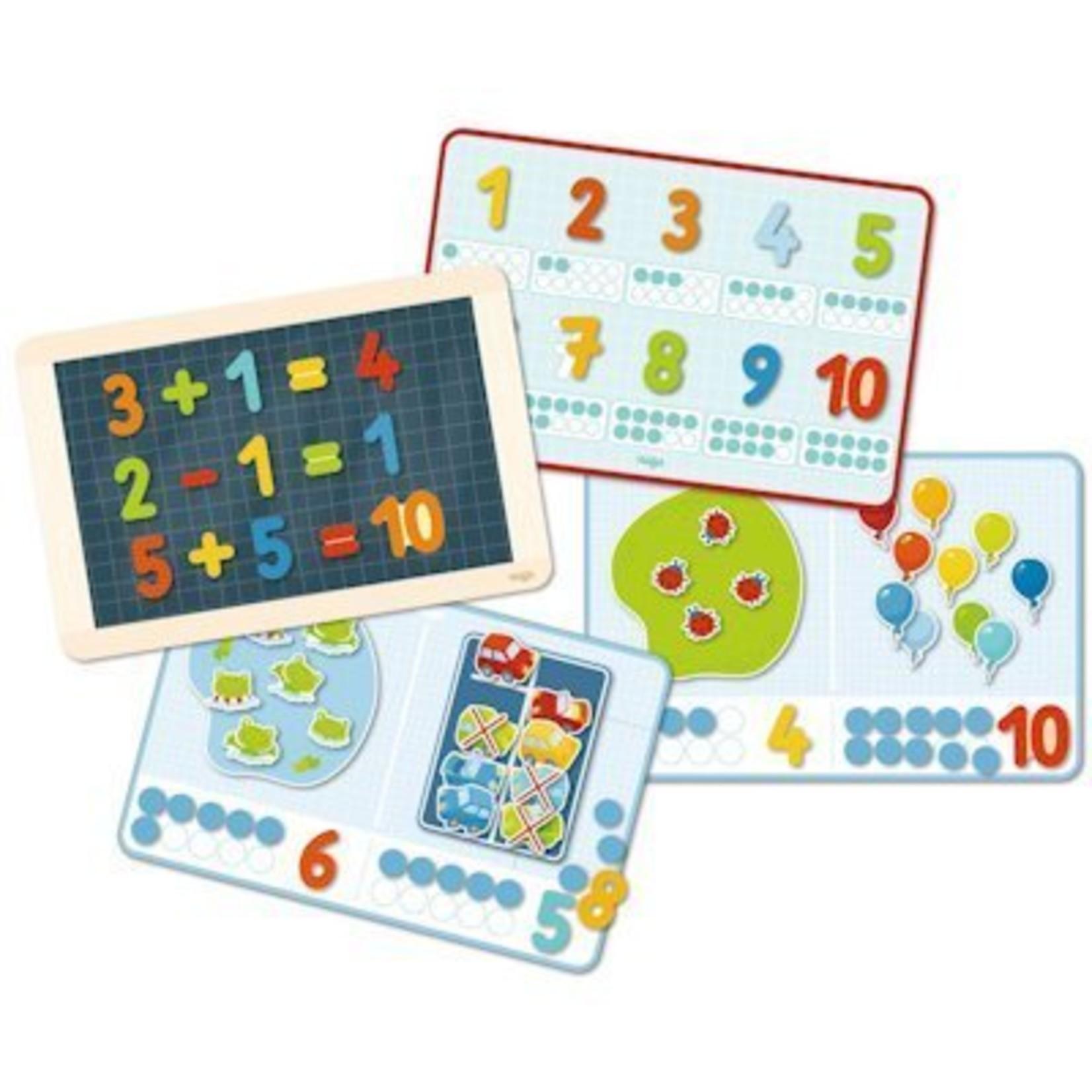 Haba Magneetspelbox 1, 2 tellerij