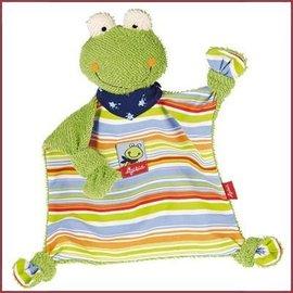 Sigikid Knuffeldoekje kikker Fortis Frog