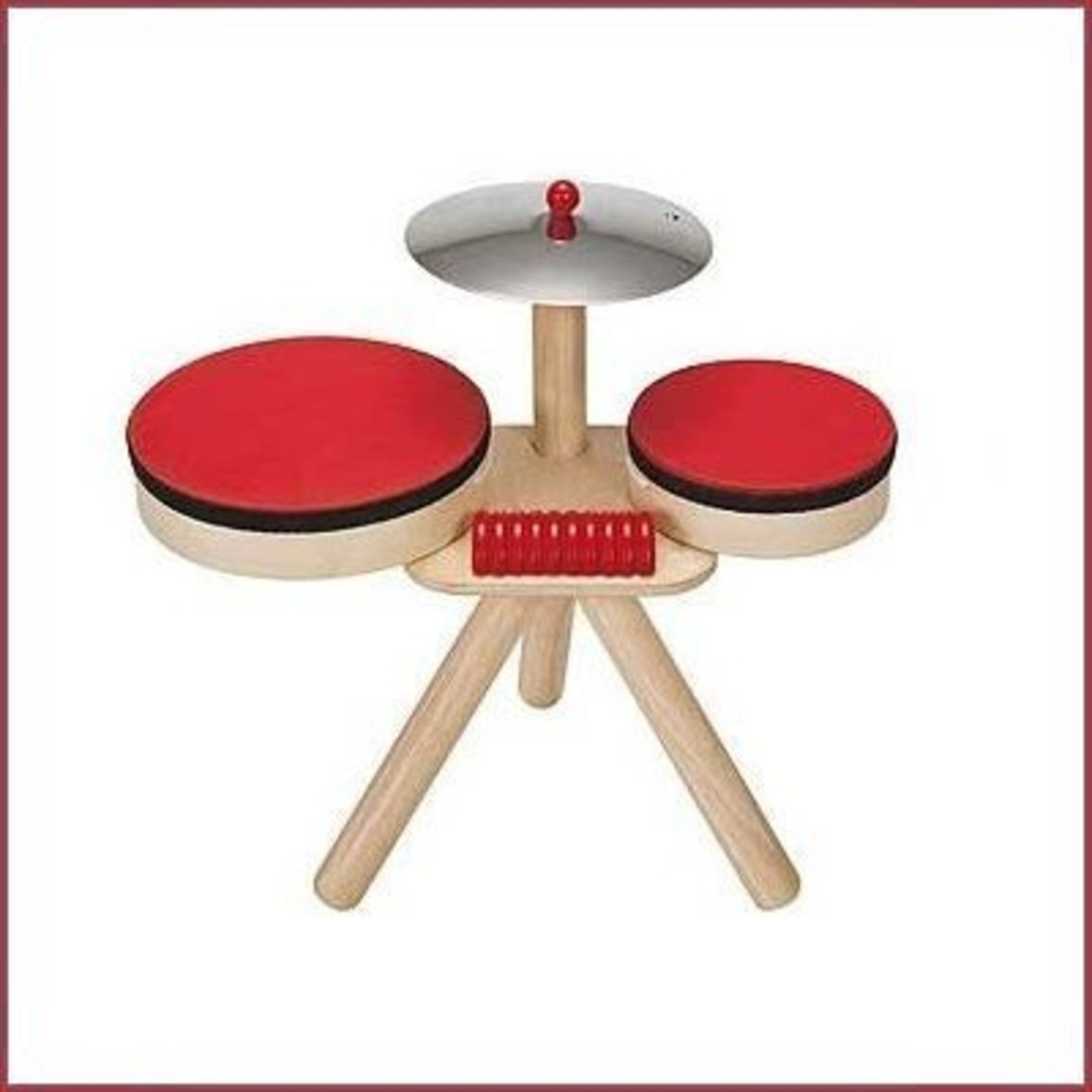 Plantoys Houten drumstel Musical Band