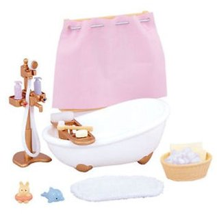 Sylvanian Families Bath & Shower Set