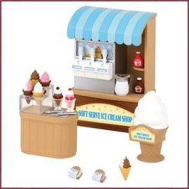 Sylvanian Families Soft Service Ice Cream Shop