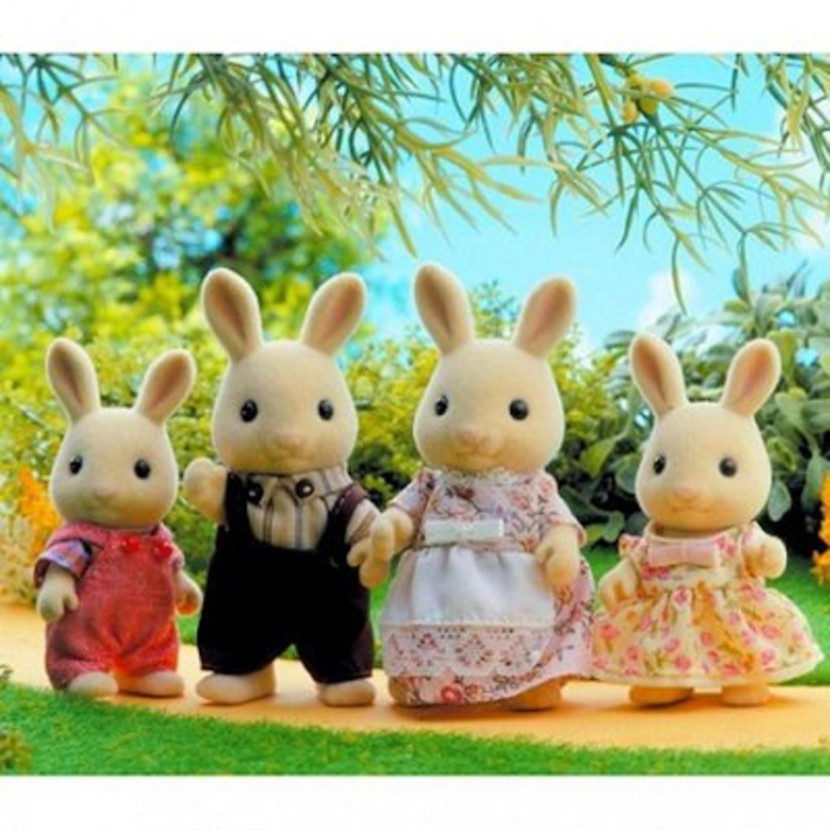 Sylvanian Families Familie wit konijn