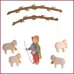 Ostheimer Mobiel Schaapjes met Herder